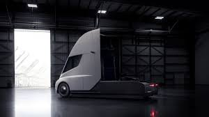 electric semi truck tesla unveils semi truck and roadster curbed
