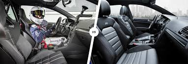 white volkswagen gti interior vw golf gti clubsport s vs golf r comparison carwow