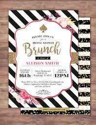 spade invitation bridal shower invitation brunch invite sweet