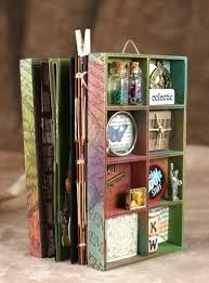 diy scrapbook album diy wood collage box mini albums aha great ideas and diy s