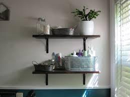 unique bathroom shelf design in home interior design ideas with