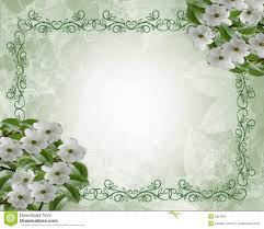 wedding flowers images free floral wedding border dogwood stock illustration illustration of