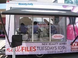 nail files u201d mobile spa tour hits ac beautyjudy