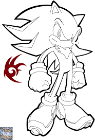 100 coloring pages of sonic and shadow sonic the werehog