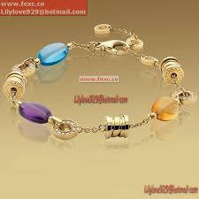 yellow quartz bracelet images Fake bvlgari b zero1 bracelet in 18k yellow gold with amethyst jpg
