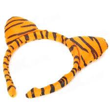 tiger headband costume tiger ears headband bow tie set tiger ears