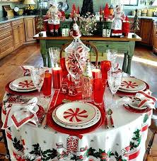 christmas decor for round tables holiday centerpieces for round tables lovely banquet table