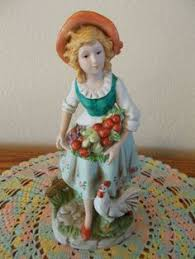 details about homco figurine victorian lady figurine home