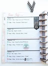 How To Look Happy by Horizontal Happy Planner Spread Coming Together U2014 Me U0026 My Big Ideas