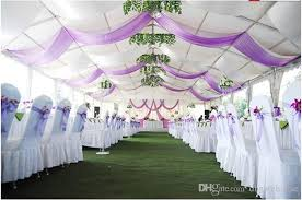 wedding decorations wholesale 75cm wide sheer organza fabric for wedding diy decoration