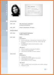 Sample Of Resume For Job Application 13 Curriculum Vitae Format For Job Application Teacher Bussines