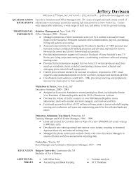 Program Manager Resumes Sample Resume For Office Administrator Resume For Your Job