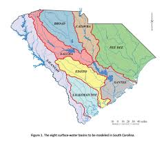 Columbia Sc Map Scdnr Water Information