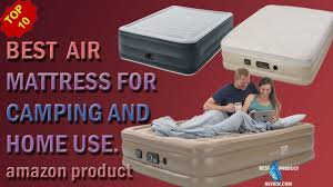 full size air mattress best double inflatable raised camping and