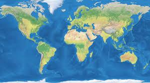 flat map of the world roundtripticket me