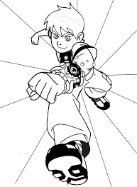 ben 10 coloring pages coloringsuite