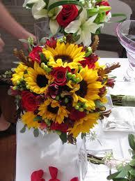 wedding flowers sunflowers 2011 wedding bouquet photos bridal bouquets bloomin