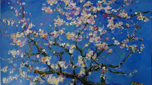 arts paintings vincent van gogh blossom postimpressionism vincent van gogh