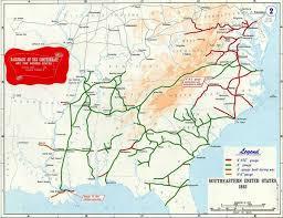 Eastern Tennessee Map by Confederate Railroads In The American Civil War Wikipedia