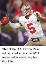 Braxton Miller Meme - ohio state qb braxton miller will reportedly miss the 2014 season
