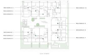 Garden Floor Plan by Floor Plans Aire Santa Monica