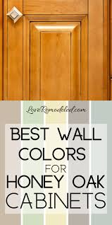 what color walls with wood cabinets wall colors for honey oak cabinets oak kitchen cabinets