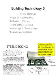 steel decking revised pdf roof steel