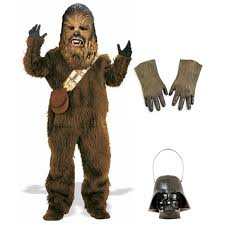 Star Wars Halloween Costumes Adults Complete Deluxe Chewbacca Costume Star Wars Costumes
