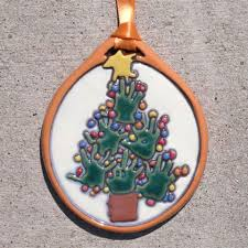 2011 handprint tree ornament driscoll children s hospital