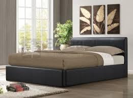Birlea Ottoman Birlea Ottoman 5ft Kingsize Brown Faux Leather Bed Frame By Birlea