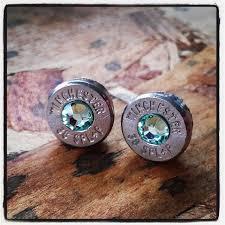 bullet stud earrings bullet stud earrings gunpowder and glitz light green bullet