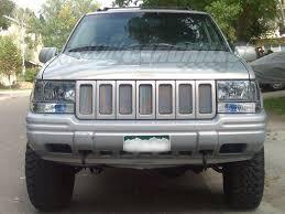 96 jeep laredo 1996 98 jeep grand mesh grill insert kit by customcargrills