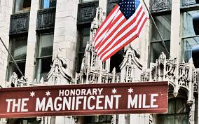 Magnificent Mile Chicago Map by Book Your Chicago Hotels Magnificent Mile Shopping Package