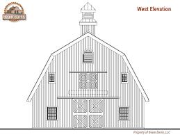 Gambrel Roof Barn Gambrel Beam Barns