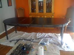 refinish table chairs pleasant home design