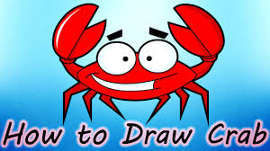 diy how to draw crab creative art work easy drawing steps