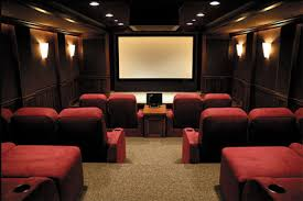 movie theater style home theater man caves bars wine cellars