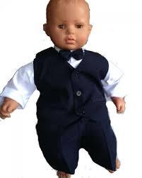 costume mariage bã bã costume baptême bébé bleu marin