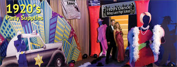 themed party supplies prom decorations and themes 1920s party supplies gangster
