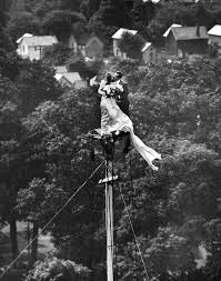 Making A Flag Pole Behind The Picture Love Atop A Flagpole 1946 Time Com