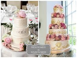 wedding cake flower wedding cake flowers real vs sugar i do wedding cakes