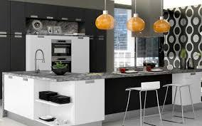 Orange And White Kitchen Ideas Contemporary Kitchen Interior Design Ideas Sagne Etoile Mat Black