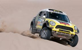 mitsubishi dakar mini cooper countryman all4 racing dakar rally car first drive