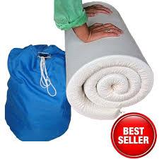 Best Sofa Bed Mattress Topper by Best Memory Foam Mattress Topper Queen Memory Foam Travel
