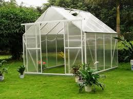 Hobby Greenhouses Uv Twin Wall Small Polycarbonate Plastic Hobby Greenhouse 8 U0027 X 10