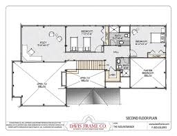 mountainside home plans mountainside timber home plan by davis frame co
