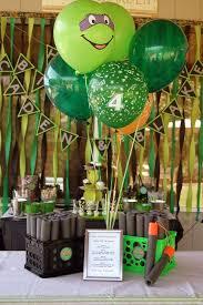 25 turtle birthday parties ideas ninja turtle
