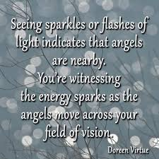 seeing flashes of light spiritual seeing sparks or flashes of light indicates that angels are nearby
