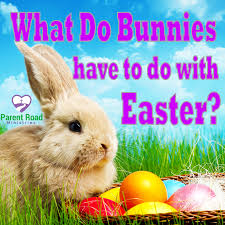 what do bunnies and eggs have to do with easter parent road