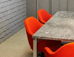 Orange Table L Lsm Conference Table Series With L Leg Knoll